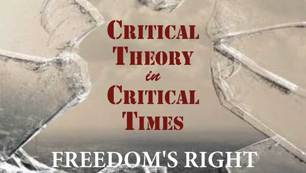 Flier for the Critical Theory in Critical Times workshop